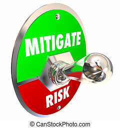 Mitigate Risk Reduce Dangers Mitigation Switch 3d...