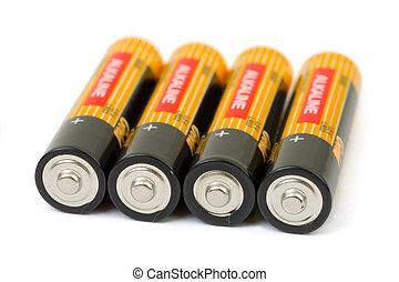 jogo, baterias