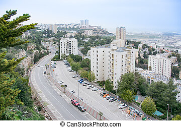 View of the Haifa Technion - Israel Instriture of Technology...