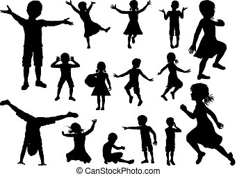 Kids Silhouette Set