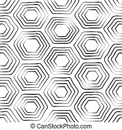 vector seamless black and white pattern of turtle