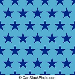 vector 4th of July seamless pattern with stars