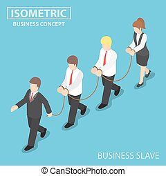 Boss Dominates His Employee like a Slave, Business Slave...