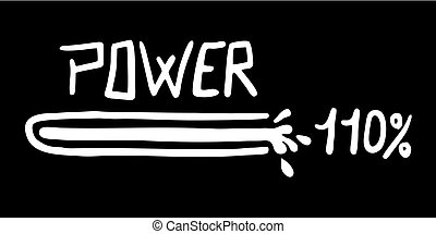 high power symbol - Creative design of high power symbol