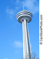 Niagara Falls Ontario and the Skylon Tower