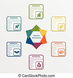 Colour triangles 6 options. - Colour triangles modern...