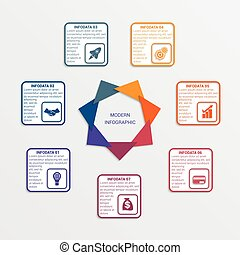 Colour triangles 7 options. - Colour triangles modern...