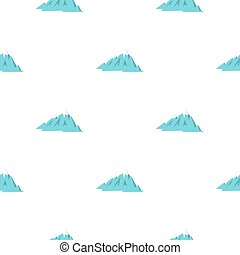 Rocky Mountains pattern seamless for any design illustration...