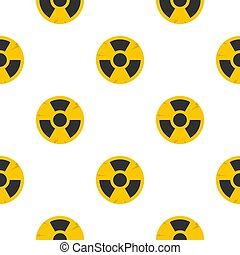 Nuclear sign pattern seamless