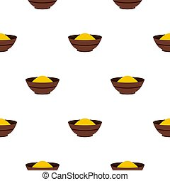 Curry spices pattern seamless