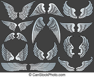 Angel Wings - Twelve Sets of Angel Wings