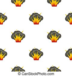 Projectile explosion pattern seamless for any design...