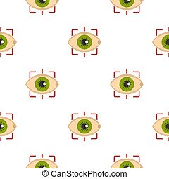 Eye pattern seamless