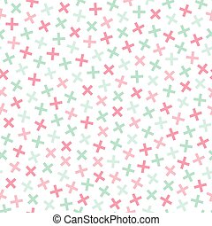 Colorful seamless memphis pattern in soft colors. Geometric...