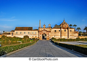 Cartuja de Sevilla, Seville, Spain - A view of Cartuja de...