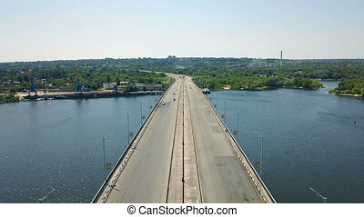 Aerial survey of the automobile bridge - Aerial survey of...