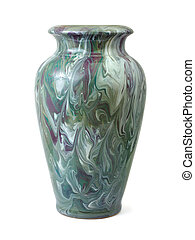 Vase with abstract pattern