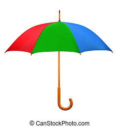 Opened umbrella