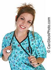 護士, 年輕