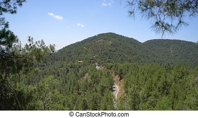 Beautiful mountain landscape on Cyprus island - Beautiful...