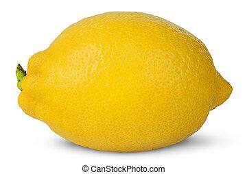 Ripe refreshing lemon