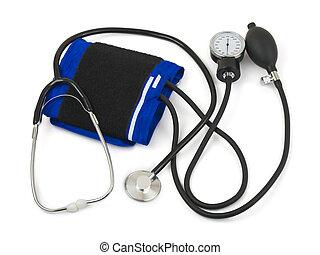 Medical set isolated on white background