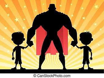 Super Dad Twin Boys