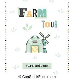 Farm tour banner