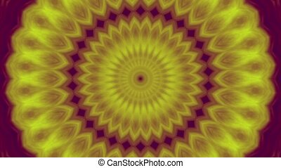 4K Colorful kaleidoscope sequence - 4K Colorful background...