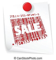 Paper sale announcement