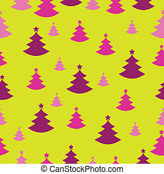 Seamless Christmas decoration present paper