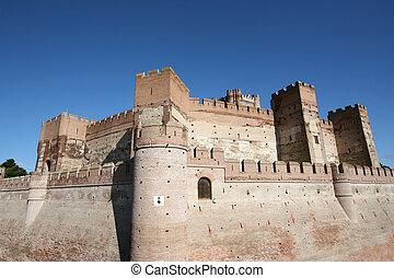 Castillo de la Mota - Medieval castle in Medina del Campo,...