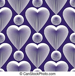 Vector bright ornate pattern with graphic lines, symmetric...