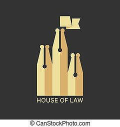 House Of Law Logotype