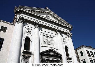 Venice - Church of Santa Maria della Pieta in Venice, Italy....
