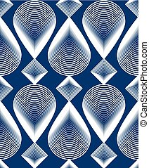 Ornate vector colorful abstract background with white lines....