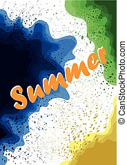 Abstract summer background..eps