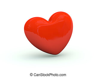Heart icon. Red series