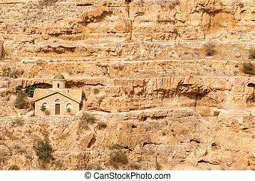 St. George Orthodox Monastery is located in Wadi Qelt.Israel