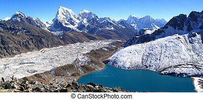 Himalaya Panorama - Spectacular panorama of the Gokyo Valley...