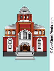 SYNAGOGUE - building for worship to God and prayer