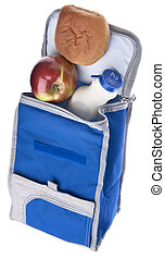 Healthy School Lunch Themed Image Balanced Meal in an...