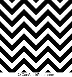 Black and White Zigzag Seamless Pattern