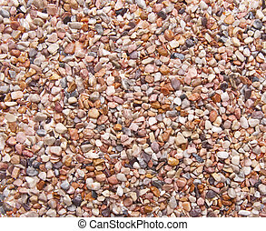 Small Rocks Background Image with Earth Tones.