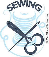 Sewing service vector