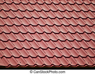 New roof.  - Slope of tiled roof