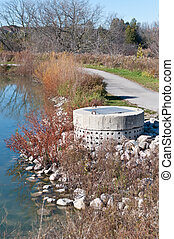 Stormwater Management System Perforated Concrete Pipe - A...