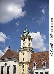 Jesuit Church in Bratislava - Detail of Jesuit Church in...