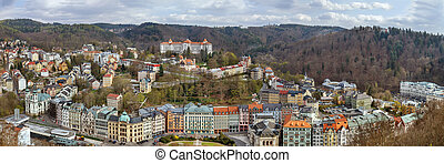 View of Karlovy Vary, Czech republic - View of Karlovy Vary...
