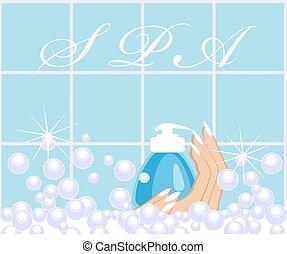 spa. soap